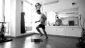 Natrčavanje na step klupu